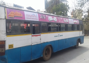Volvo Bus Advertising in Bangalore
