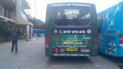 bus advertising in bangalore