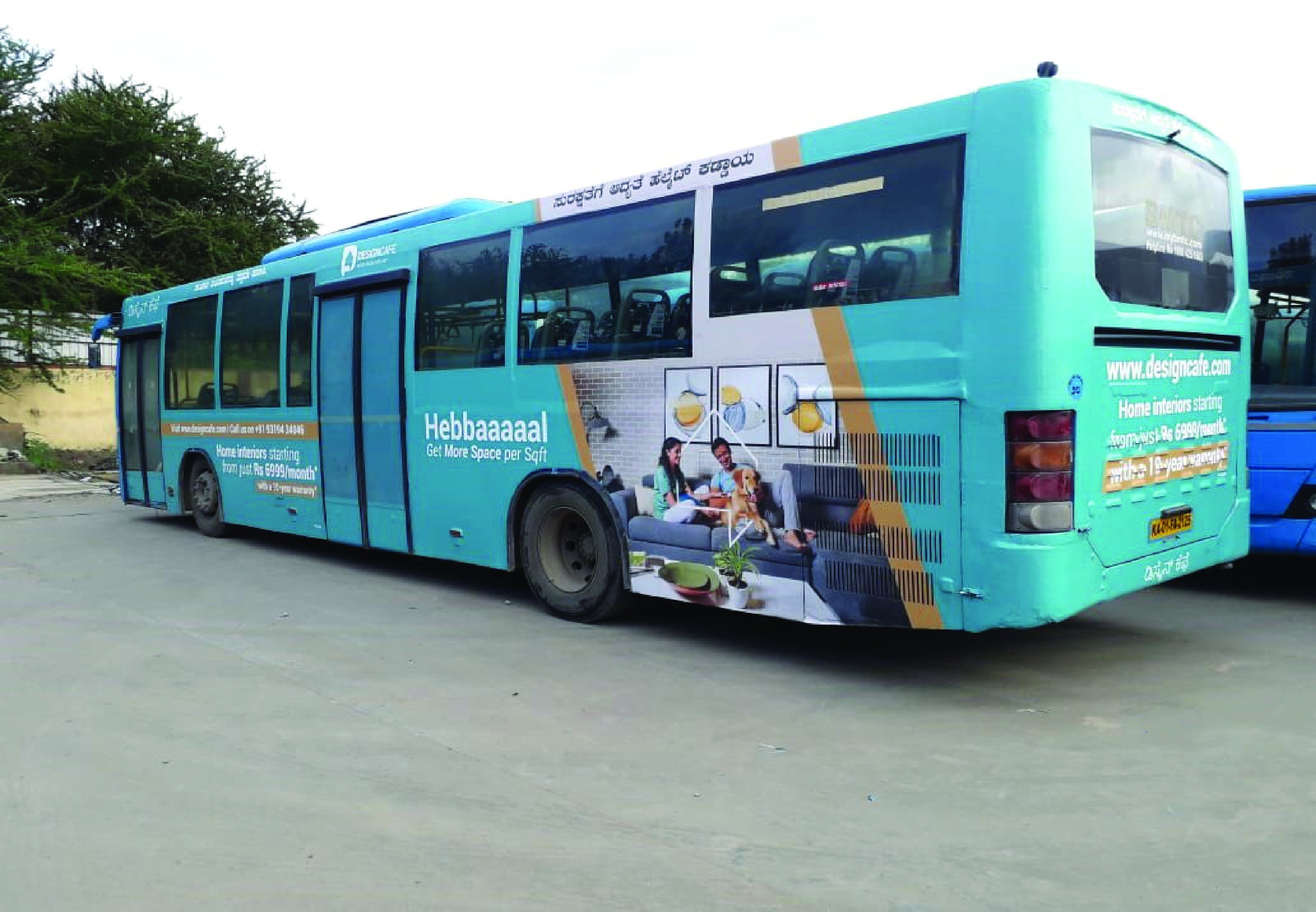 Volvo Bus Branding in Bangalore